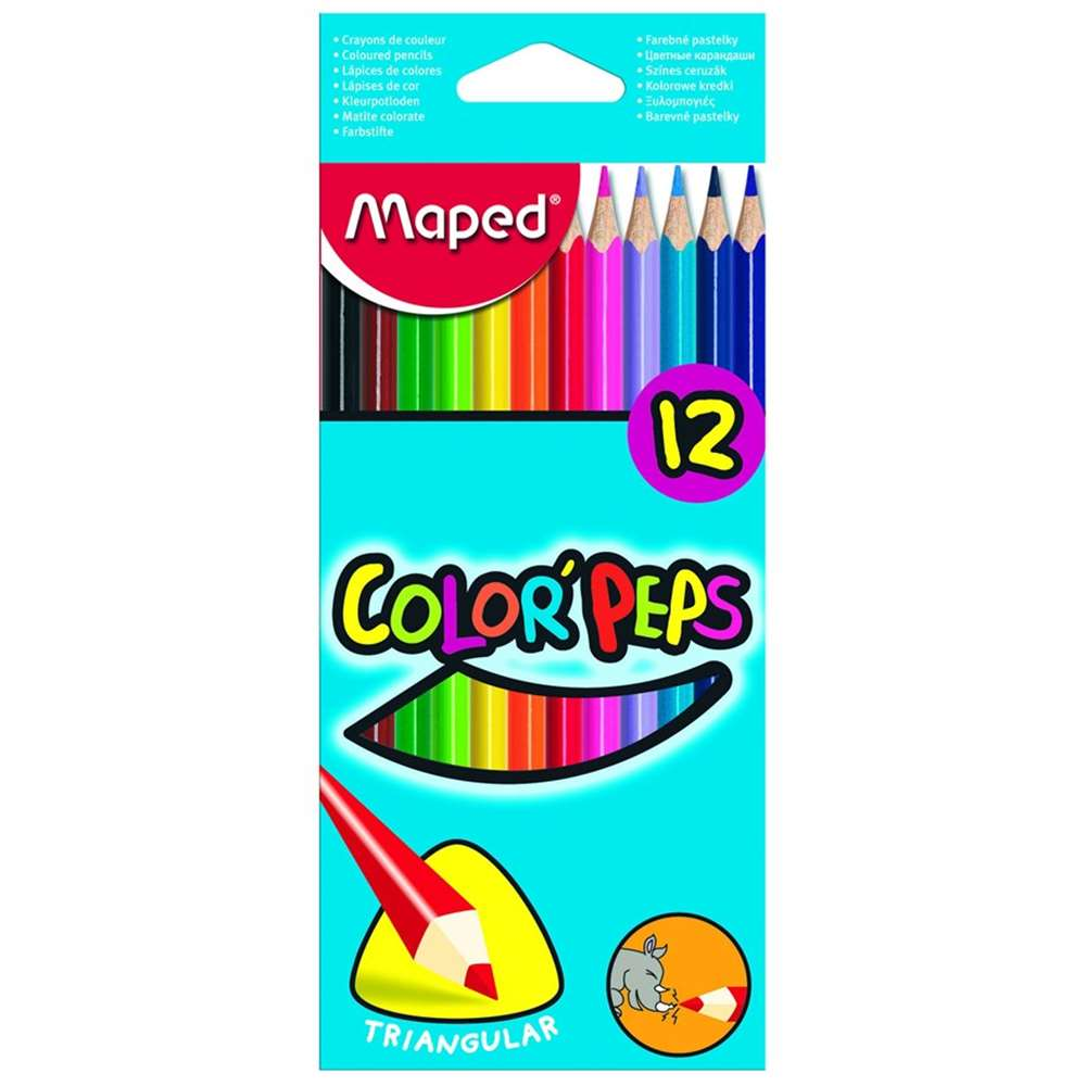 MAPED KURUBOYA COLOR PEPS 12 Lİ TAM BOY 183212