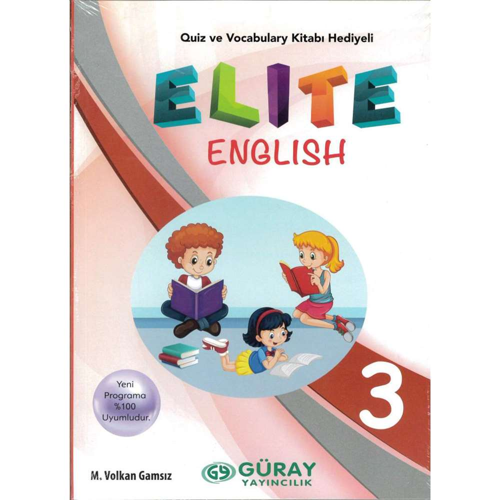 GÜRAY YAY 3.SINIF ELİTE ENGLİSH SB+QUİZ+VOCABULARY