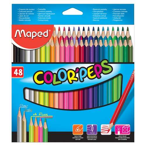 MAPED KURUBOYA COLOR PEPS 48 RENK 832048