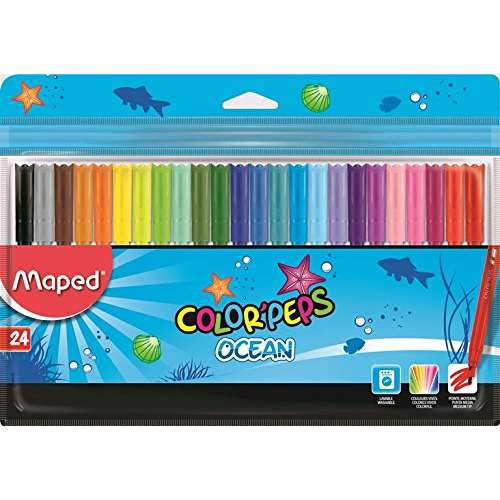 MAPED COLORPEPS 24 RENK KEÇELİ KALEM SP84572200