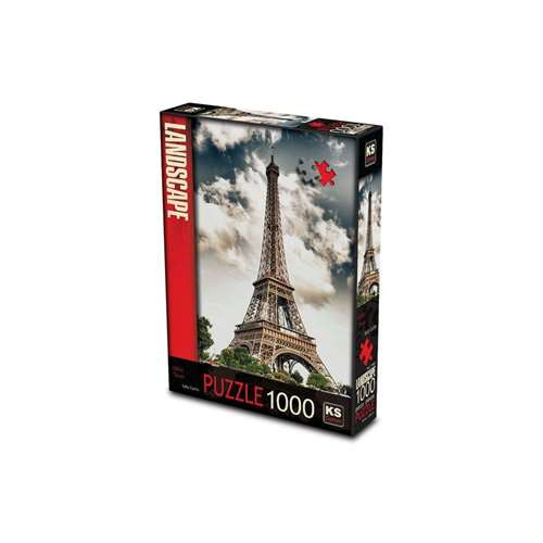 KS GAMES 1000 PARÇA PUZZLE EIFFEL TOWER PARİS 11465